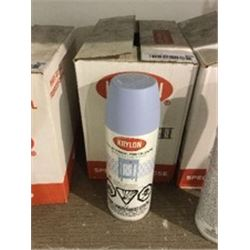 Case ofKrylonChalky Finish Morning Sky Aerosol Spray (6 x 340g)