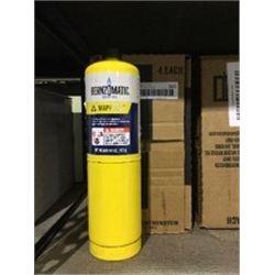 Case of BernzomaticMap-Pro Cylinder (4 x 400g)