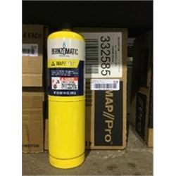 Case of Bernzomatic Map-Pro Cylinder (4 x 400g)