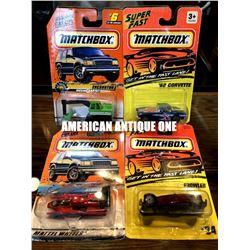 1994~1998 Matchbox minicar 4 types
