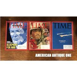 2003 TIME Magazines set of 3 Studying English