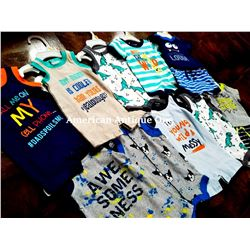 "USABabies ""R"" Us children's clothing 10 pieces set [new born]"