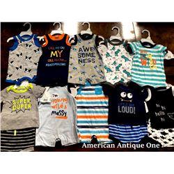 """USABabies """"R"""" Us children's clothing 10 pieces set [0-3m]"""
