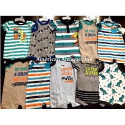 """USABabies """"R"""" Us children's clothing 10 pieces set [3-6m]"""