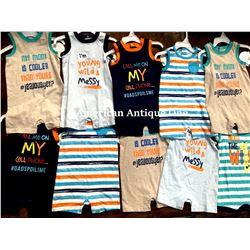 """USABabies """"R"""" Us children's clothing 10 pieces set [6-9m]"""