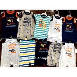 """USABabies """"R"""" Us children's clothing 10 pieces set [9-12m]"""