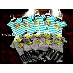 """USABabies """"R"""" Us children's clothing 10 pieces set [new born:4,0-3m:4,3-6m:2]"""