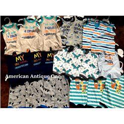 """USABabies """"R"""" Us children's clothing 20 pieces set [new born:6,0-3m:8,3-6m:6]"""