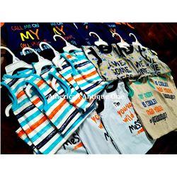 """USABabies """"R"""" Us children's clothing 20 pieces set [6-9m:10,9-12m:6,12-18m:4]"""