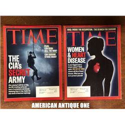 2003 TIME 2 books set