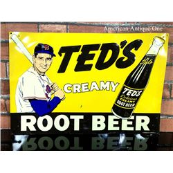 TED'S CREAMY ROOT BEER Sing