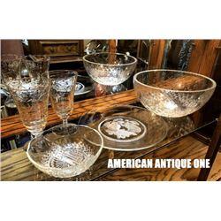 American antique tableware 5-piece set