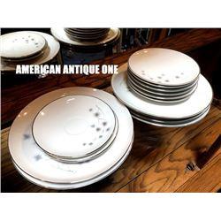 American antique tableware 2 types, 14-piece set