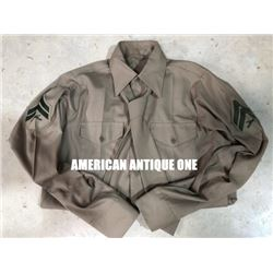 US Army shirt long sleeves/Military uniform with tie