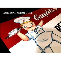 USA store display 46cm Campbell soup Campbell kids Sign