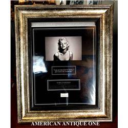 Marilyn Monroe's hair certificate (5 pieces)