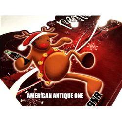 "40cm USA Coca-Cola reindeer ""Soriana"" Display"