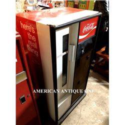 141cm USA Coca-Cola Vending Machine Bottle and Can
