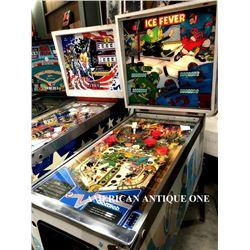 1985 USA Pinball Machine Ice Fever Premier/Gottlieb