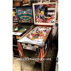 1976 USA Pinball Machine/Pioneer Gottlieb