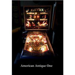1976 USA Pinball Machine/Chicago Coin Cinema