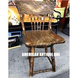 85cm Wooden Chair Antique Furniture