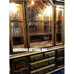 208cm USA Antique Furniture Showcase