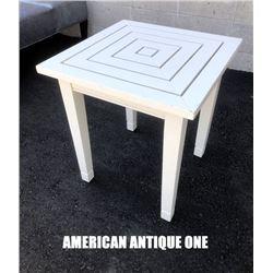 Smith & Hawken 56cm Center Table White Wooden Furniture