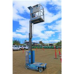 2013 Genie GR-12 12-Foot Manlift (Runs, Drives, Lifts - See Video)