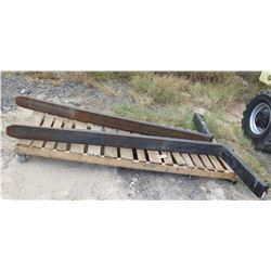 Pair: Aero Forklift Forks (Approx. 8' Long)