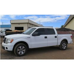 2014 Ford F150 Quad Cab Pickup Truck 83,472 Miles, Lic. 837TVF (Runs, Drives - See Video)