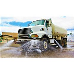 2006 Sterling LT8500 Water Truck, 4K Gallons (Runs, Drives, Sprays Water - See Video)
