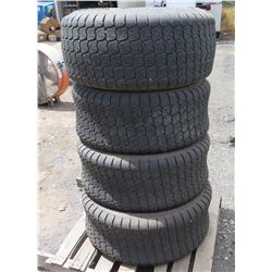 Qty 4 Titan Tires with Rims, 12-16.5