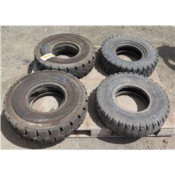 Qty 4 Hauler-WT Wide-Wall Tires 6.50-10