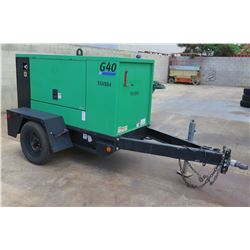 2013 Doosan G40WMI-2A-T4I Generator, 30KW (Single & 3 Phase) (Starts & Runs - See Video)