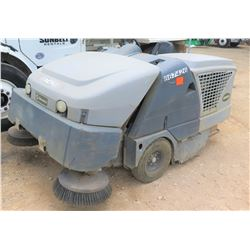 Advance SW8000 Indoor and Outdoor Parking Lot Sweeper- Runs & Works See Video