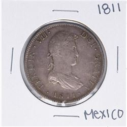 1811 MoHJ Mexico 8 Reales Silver Coin