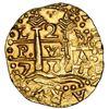 Image 1 : Lima, Peru, cob 2 escudos, 1711M, ex-1715 Fleet.