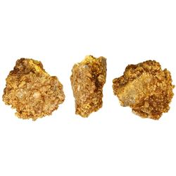 Large gold mineral specimen from a mine in the Dominican Republic, 135.45 grams.
