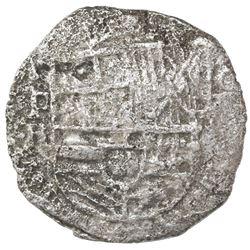 Potosi, Bolivia, cob 8 reales, Philip III, assayer R (curved leg), Grade 2, ex-Sebring, ex-Jones (Pl