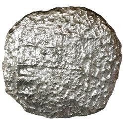 Potosi, Bolivia, cob 8 reales, Philip III, assayer M, Grade 4.