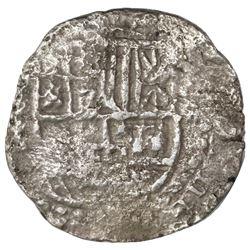 Potosi, Bolivia, cob 8 reales, (161)9(T), Grade 2.