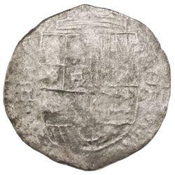 Potosi, Bolivia, cob 8 reales, (1618)PAL (rare), ex-Gray.