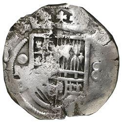 Mexico City, Mexico, cob 8 reales, 1619/8D/F, Grade 1, rare, NGC shipwreck effect / Sao Jose, ex-Gra