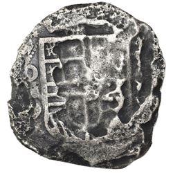 Mexico City, Mexico, cob 8 reales, (16)21D, rare, ex-Jones (Plate Coin).