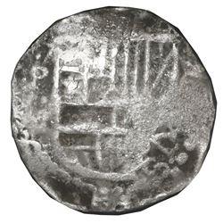 Potosi, Bolivia, cob 4 reales, Philip III, assayer M, NGC shipwreck effect / Sao Jose.