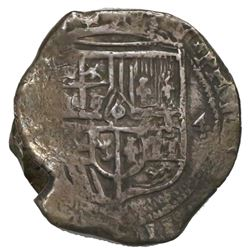 Mexico City, Mexico, cob 4 reales, Philip IV, assayer not visible, ex-Spink.