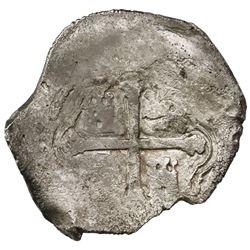 Mexico City, Mexico, cob 8 reales, 1640/39P, ex-Rudman.