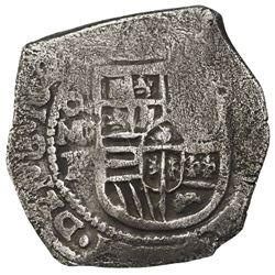 Mexico City, Mexico, cob 8 reales, Philip IV, assayer P, ex-Webber.