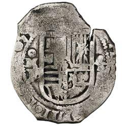 Mexico City, Mexico, cob 4 reales, 1639P, ex-Rudman.
